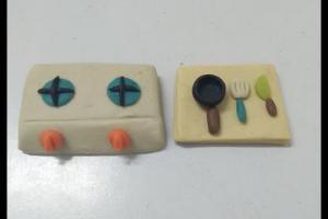 迷你灶台的粘土制作步骤教程