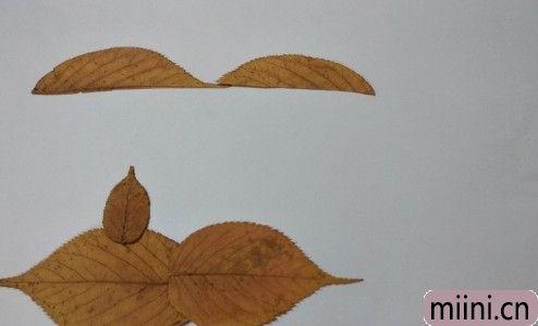 树叶风景画06