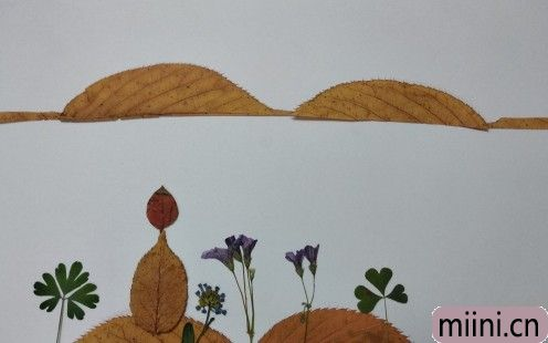 树叶风景画08
