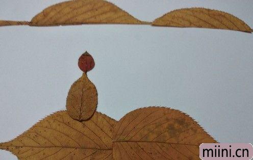 树叶风景画07