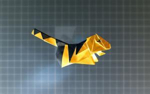 小老虎折纸教程,听说这玩意最近爱两只凑一块跳舞?