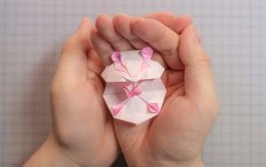 折纸界最萌仓鼠,小仓鼠的折纸步骤教程