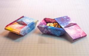 来折个干果盘吧,拉高家庭聚会的仪式感,干果盘折纸教程