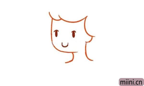 灰姑娘简笔画
