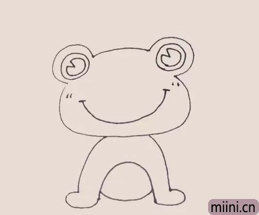 青蛙王子简笔画