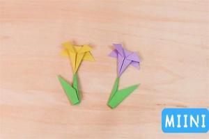 折纸花步骤教程图解