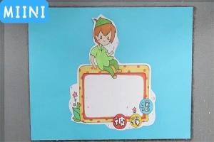 小飞侠彼得番读书卡的制作步骤教程