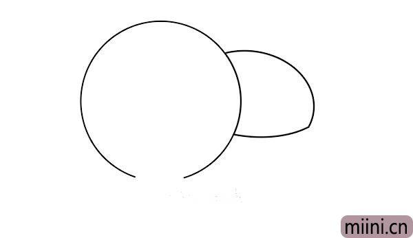 蘑菇简笔<a href=http://www.miini.cn/hhds/ target=_blank class=infotextkey>画</a>画法