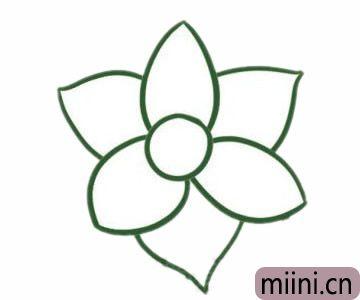 水仙花简笔<a href=http://www.miini.cn/hhds/ target=_blank class=infotextkey>画</a>