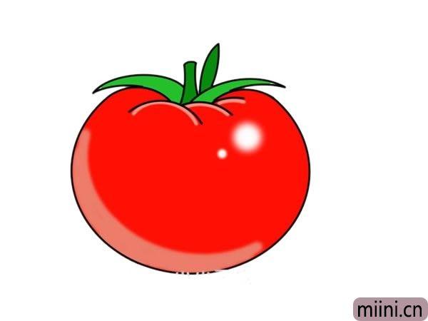 番茄简笔画图片