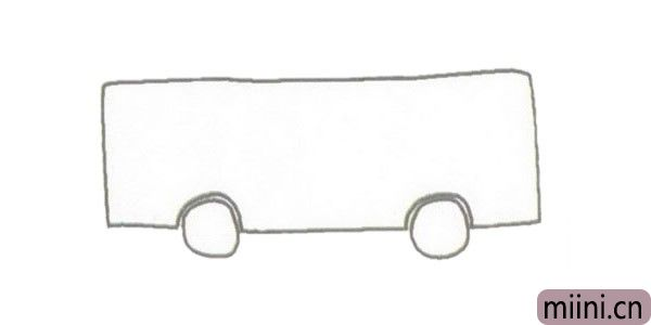 公共汽车简笔<a href=http://www.miini.cn/hhds/ target=_blank class=infotextkey>画</a>