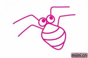 大蜘蛛简笔画步骤教程图解